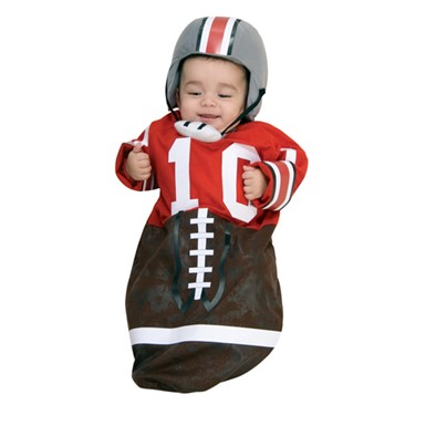 Football Player Newborn Bunting Costume 0-6 Months