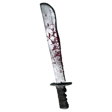 Friday The Thirteenth Jason Chrome Plated Machete