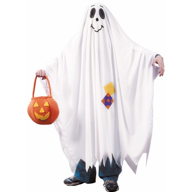 Friendly Ghost Ghoul Child Halloween Costume