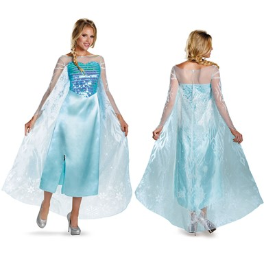 Frozen Disney Womens Deluxe Costume