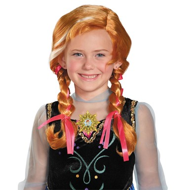 Frozen Girls Anna Wig