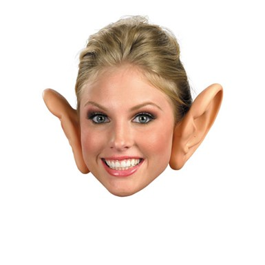 Funny Large Ears Humorous Halloween Costume Accessory
