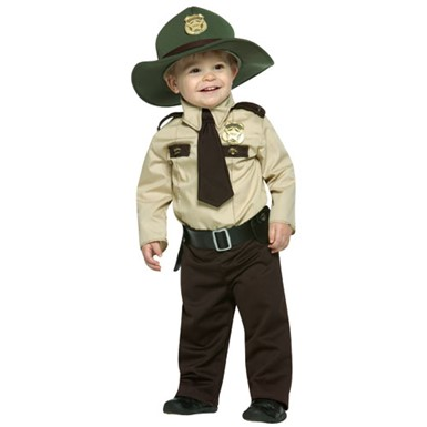 Future Trooper Cop Kids Costume size 18-24 Months