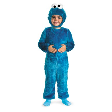 Fuzzy Cookie Monster Infant/Toddler Costume