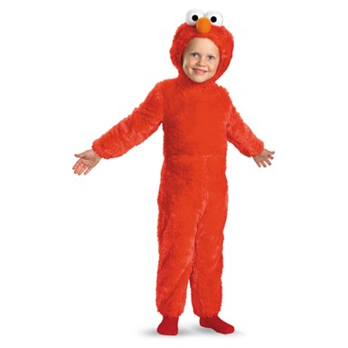 Fuzzy Elmo Sesame Street Infant/Toddler Costume
