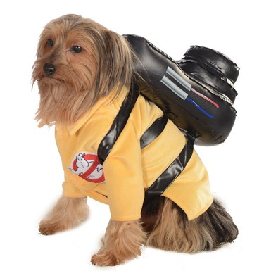 Ghostbuster Jumpsuit Pet Halloween Costume