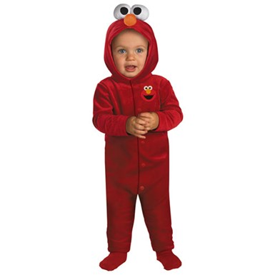 Giggling Elmo Infant Sesame Street Costume