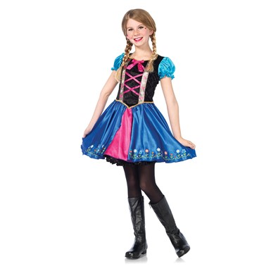 Girls Alpine Princess Halloween Costume