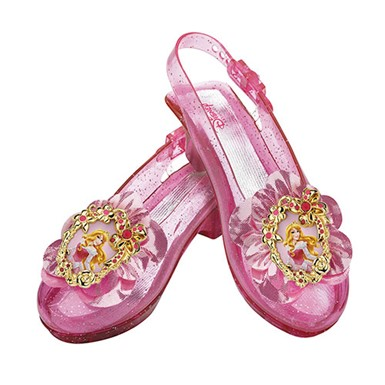 Girls Aurora Sparkle Shoes Set - Disney
