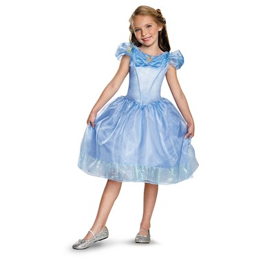 Girls Classic Cinderella Movie Halloween Costume