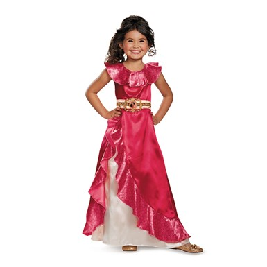 Girls Classic Elena Adventure Dress Costume