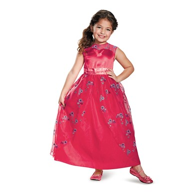 Girls Classic Elena Ball Gown Costume