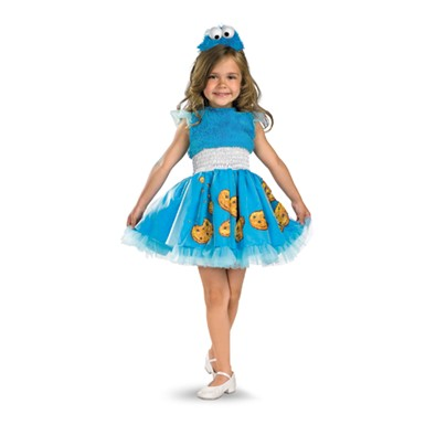 Girls Cookie Monster Dress Infant/Toddler Costume