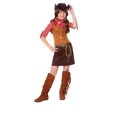 Girls Cowgirl Costume