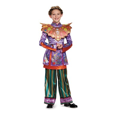 Girls Deluxe Alice Asian Look Costume