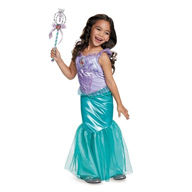 Girls Deluxe Ariel Costume