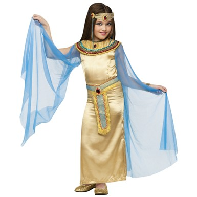 Girls Deluxe Cleopatra Egypt Costume