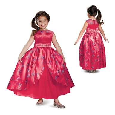 Girls Deluxe Elena Ball Gown Costume