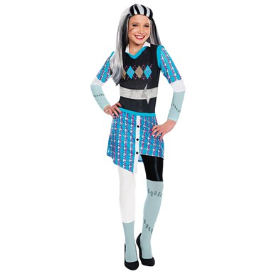 Girls Deluxe Frankie Stein Halloween Costume