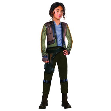 Girls Deluxe Jyn Erso Star Wars Rogue One Costume