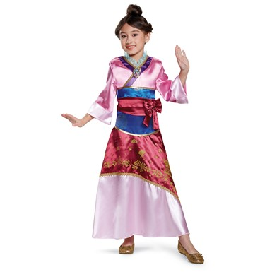 Girls Deluxe Mulan Costume
