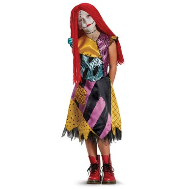 Girls Deluxe Sally Costume