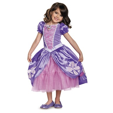Girls Deluxe Sofia Costume – The Next Chapter