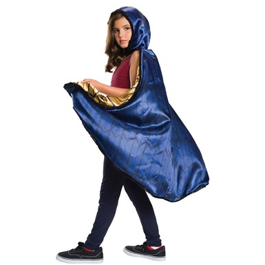 Girls Deluxe Wonder Woman Hooded Cape