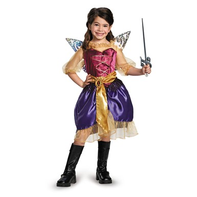 Girls Disney Pirate Zarina Classic Costume