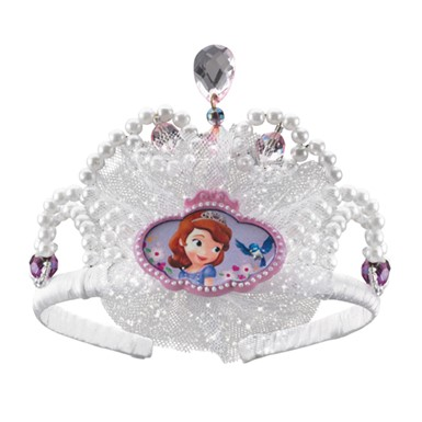 Girls Disney Sofia The First Tiara Costume Accessory