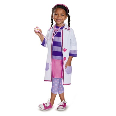 Girls Doc Toy Hospital Costume – Deluxe