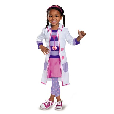 Girls Doc Toy Hospital Costume