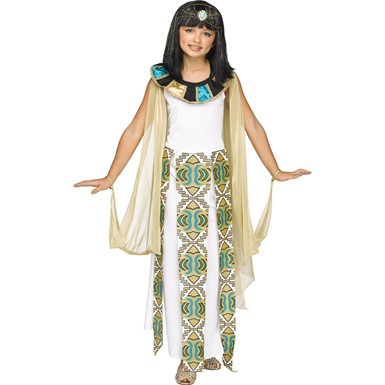 Girls Egyptian Queen Cleopatra Costume