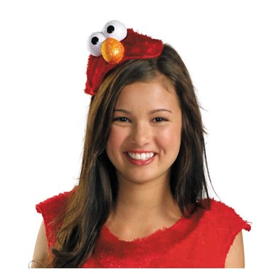 Girls Elmo Halloween Headband Costume Accessory