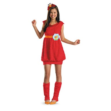 Girls Elmo Sesame Street Halloween Costume