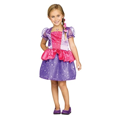 Girls Fairy Tale Princess Toddler Costume
