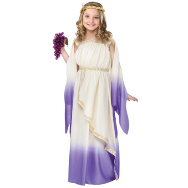 Girls Goddess Child Costume