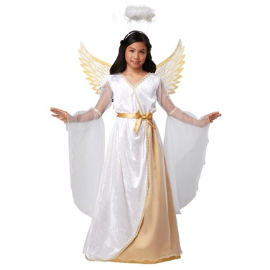 Girls Guardian Angel Costume