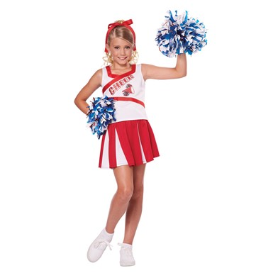 Girls High School Cheerleader Costume
