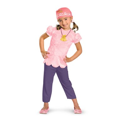 Girls Izzy Never Land Pirate Halloween Kids Costume