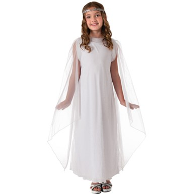 Girls Lord of the Rings Galadriel Costume