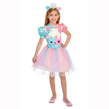 Girls Num Noms Candie Puff Halloween Costume