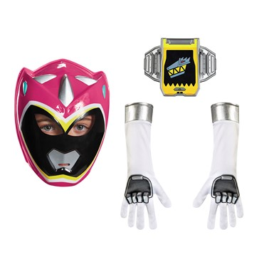 Girls Pink Power Ranger Dino Charge Accessory Kit