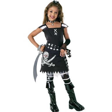 Girl's Pirate Halloween Costume - Star-Let