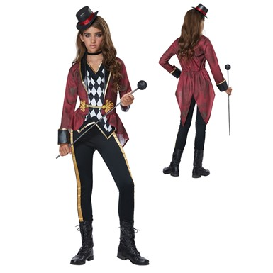 Girls Ringmaster Costume