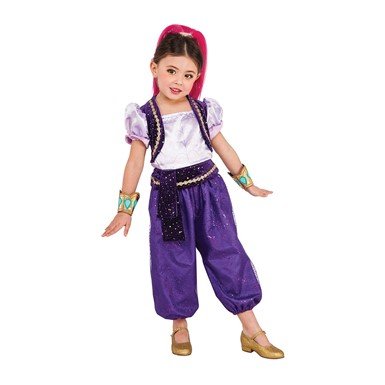 Girls Shimmer Genie Costume