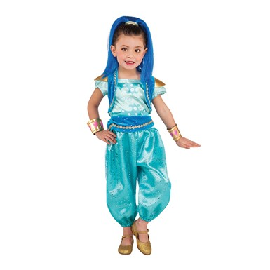 Girls Shine Genie Costume