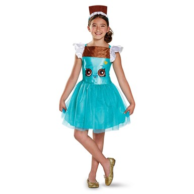 Girls Shopkins Classic Cheeky Chocolate Costume