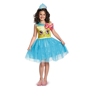 Girls Shopkins Classic Cupcake Queen Costume