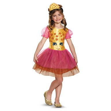 Girls Shopkins Classic Kooky Cookie Costume